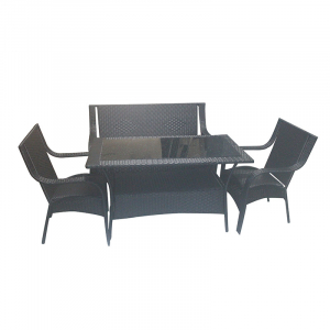 1TABLE 2CHAIR 2 TWO SEATER 675