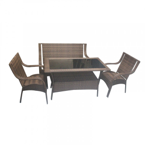 1TABLE 2CHAIR 1 TWO SEATER 675